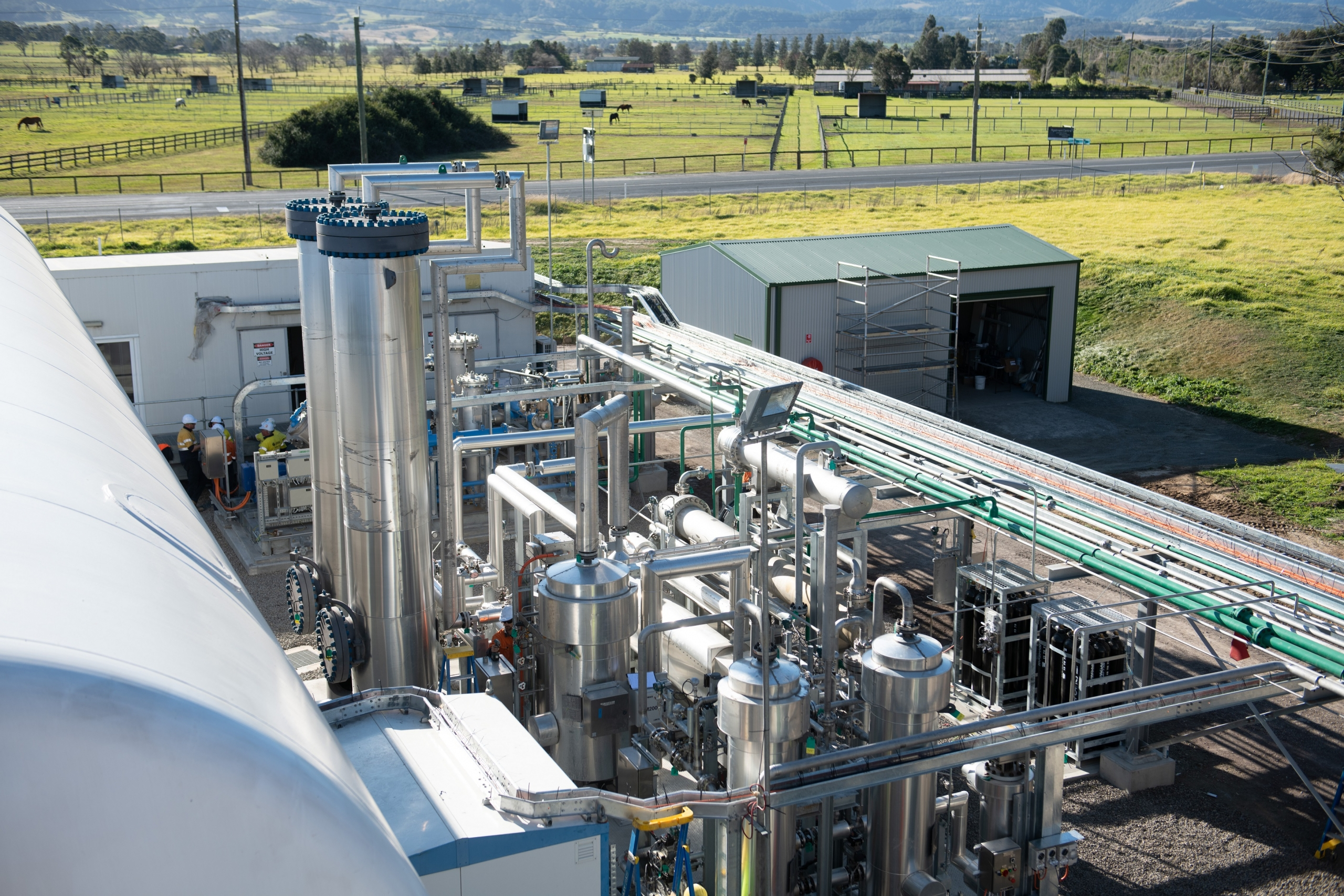 Supagas - 50tpd CO2 Plant from Biogas