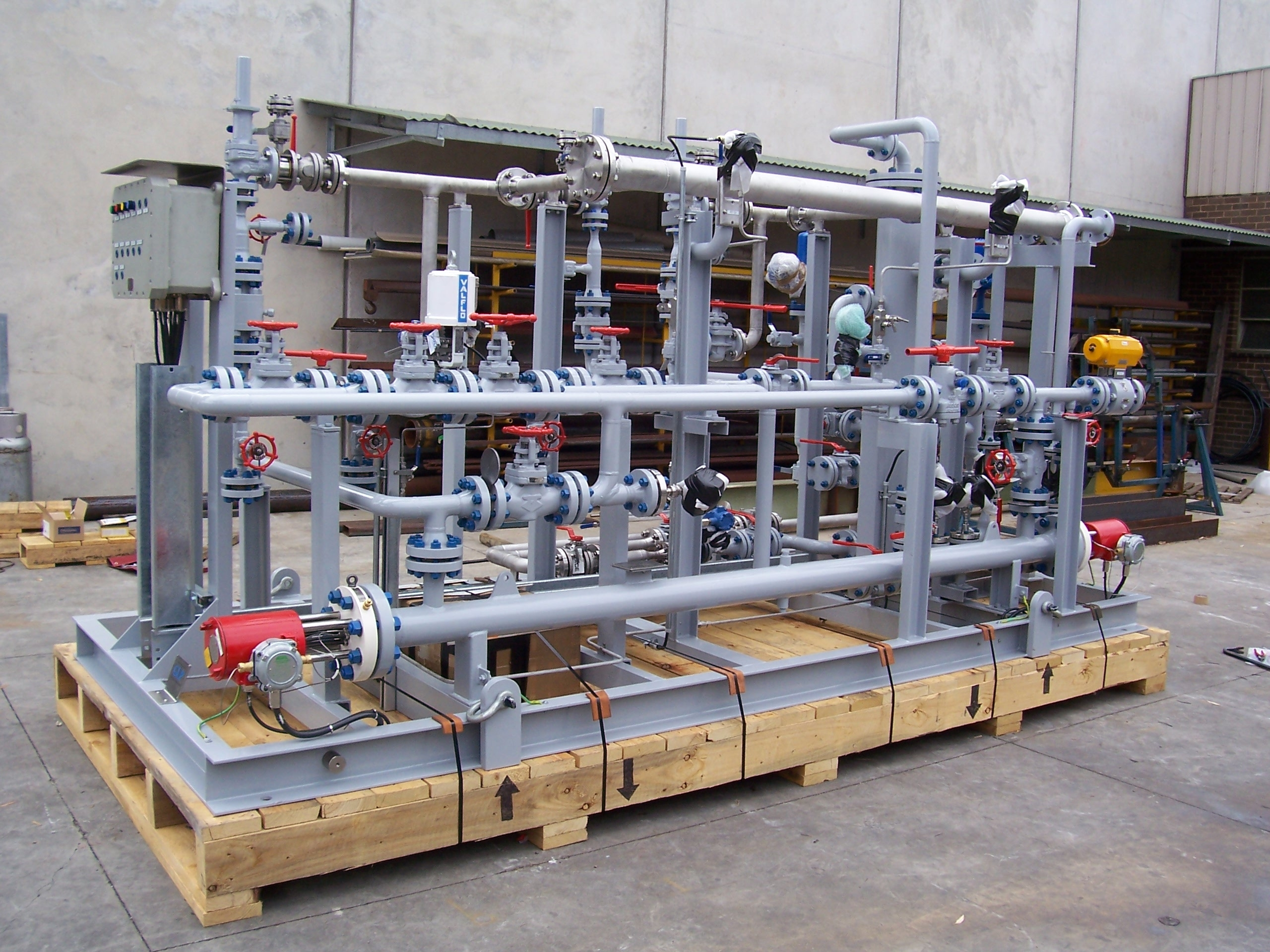 NACAP – GRF Fuel Gas Skid for the Chana Gas Receiving Terminal