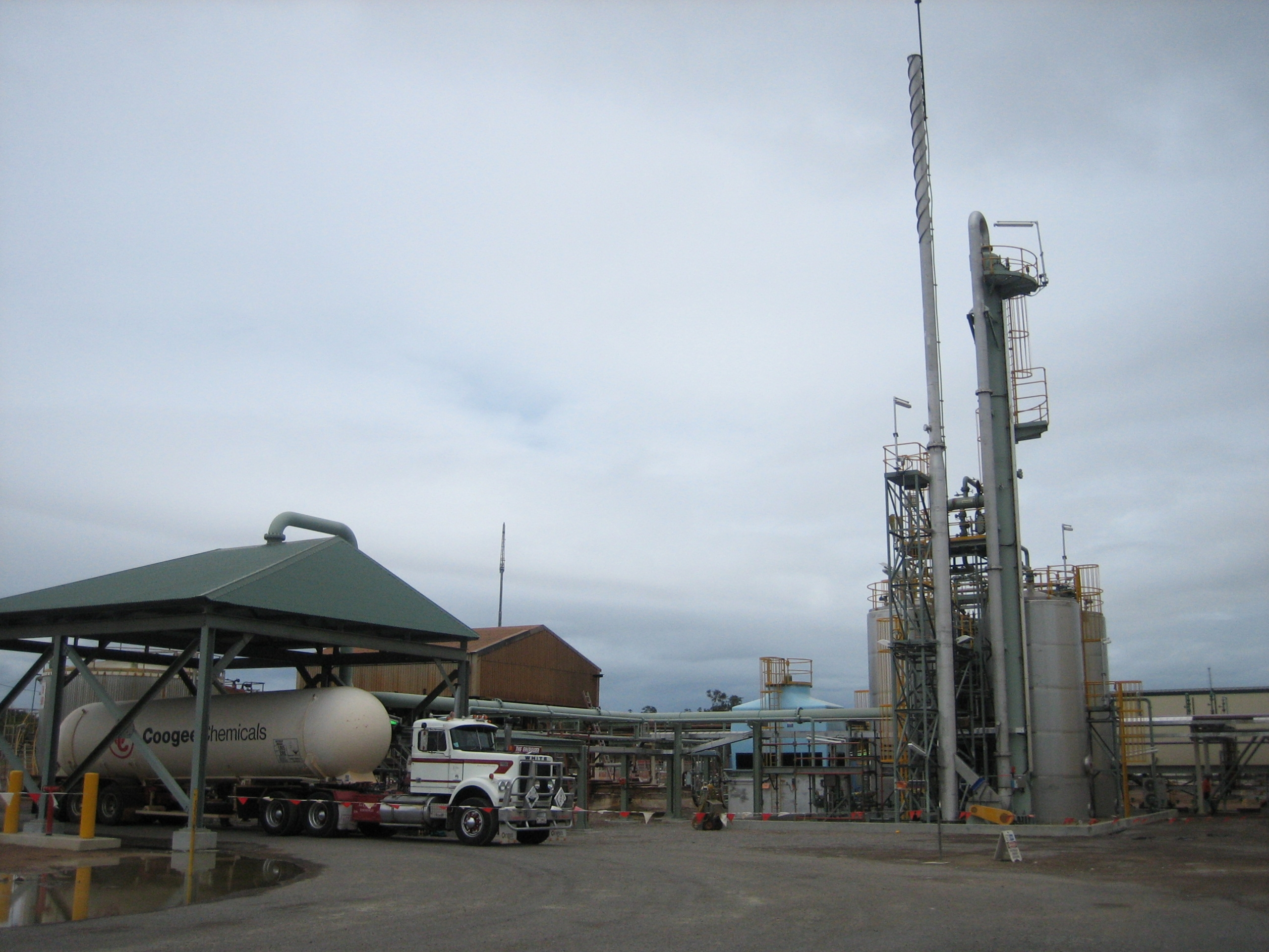 BHP Billiton – Yabulu Expansion Project Ammonia Receival Facility